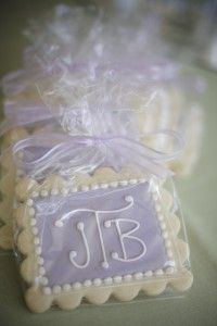Cookie favors, yummy!