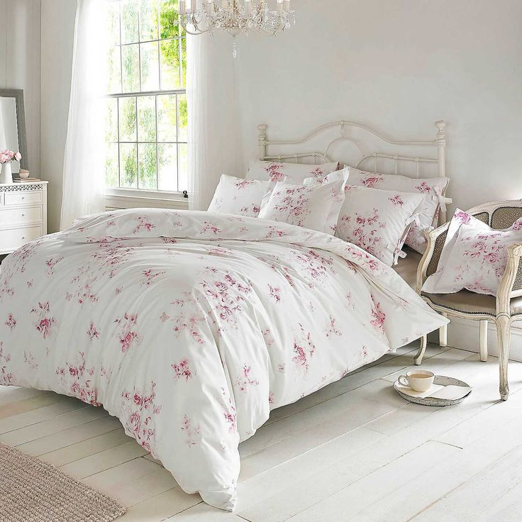 Holly Willoughby Olivia Raspberry Duvet Cover & Pillowcases