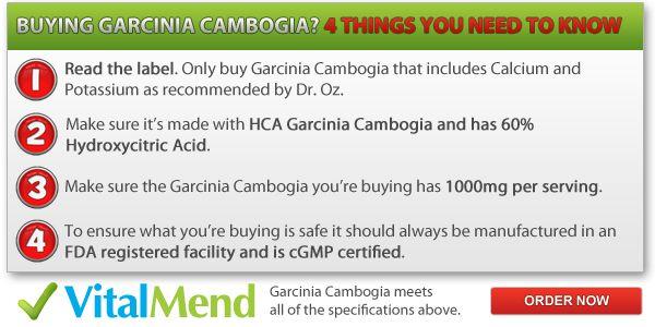 pure Garcinia Cambogia dr. oz