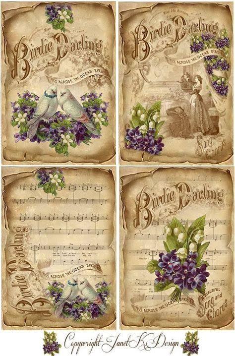 free junk journal vintage printables | Decoupage paper ...