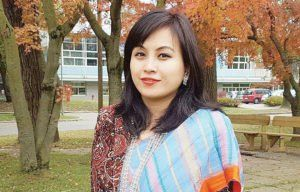 Parbati Roy, 29 Lecturer, North South University Parbati comes from the indigenous Chakma community Courtesy