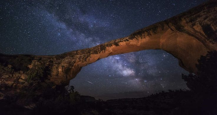 Star Gazing in Utah: Natural Bridges is the #1 spot!    Near Cedar City, UT