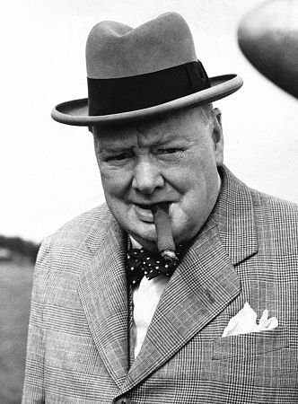 Together with Franklin Roosevelt and Joseph Stalin, Winston Churchill was a savior of Europe from the Nazi menace