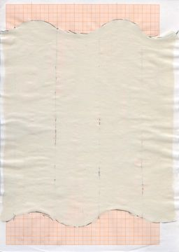 SKD 07,1998, Bleistift, Acryl auf Millimeterpapier, 29,5 x 21cm, Foto:H.Boswank