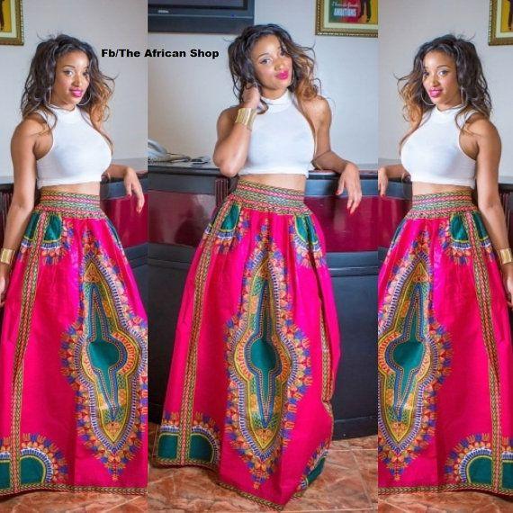 Love it! African style! Dashiki print.