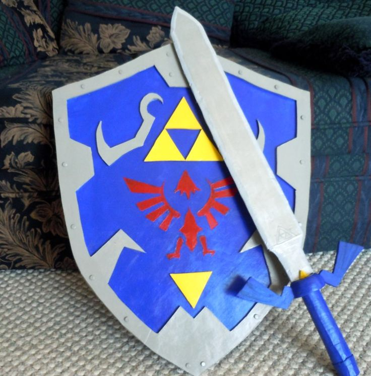 Do It Up! Cosplay tutorials: The Sword and Shield