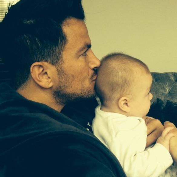 Peter Andre Reveals Adorable Nickname For Baby Amelia