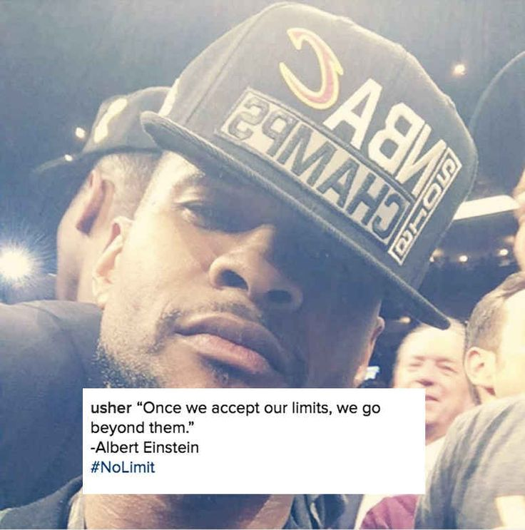 But have no fear — Usher *totally* belonged out there, and it wasn't actually that random since he's a minority owner of the Cavs.