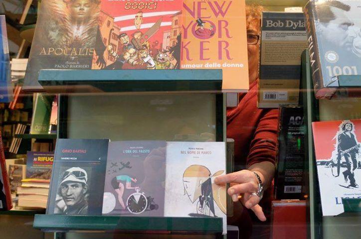 "My new novel ""Nel nome di Marco"" in Palomar bookshop, Bergamo"