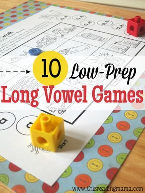 10 FREE Long Vowel Games {for CVCe Pattern} ~ Just Print and Play!   This Reading Mama