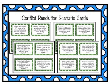 First-Grade-Classroom-Guidance-Lesson-Conflict-Resolution-SAVE-the-Day-2159523 Teaching Resources - TeachersPayTeachers.com