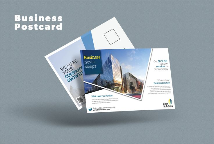 """Check out this @Behance project: """"Business Postcard"""" https://www.behance.net/gallery/42829063/Business-Postcard"""