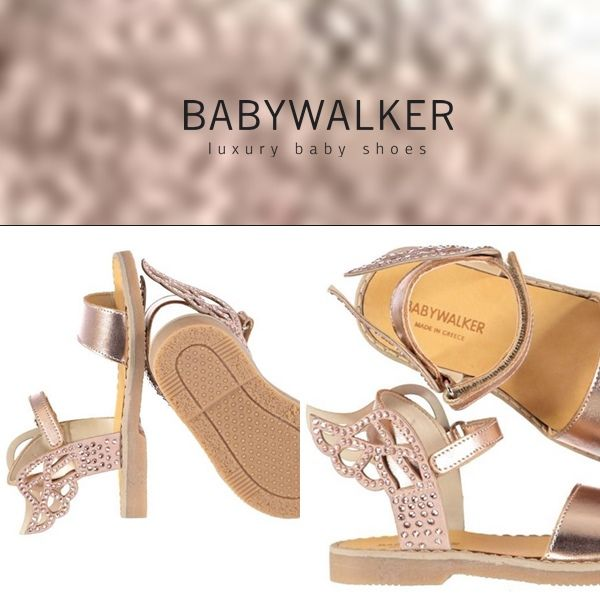Let's take off! Sawrovski Wings.. Handcrafted by BABYWALKER #babywalker #shoes #babywalkershoes #kidsshoes #babyshoes #kidsfashion #sandals #girlshoes #vaptistika