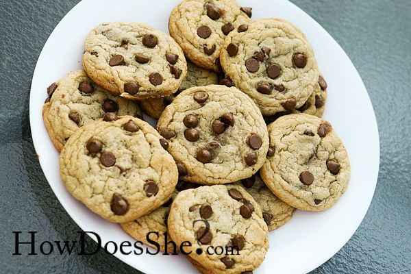 PERFECT Chocolate Chip Cookies! | How Does She