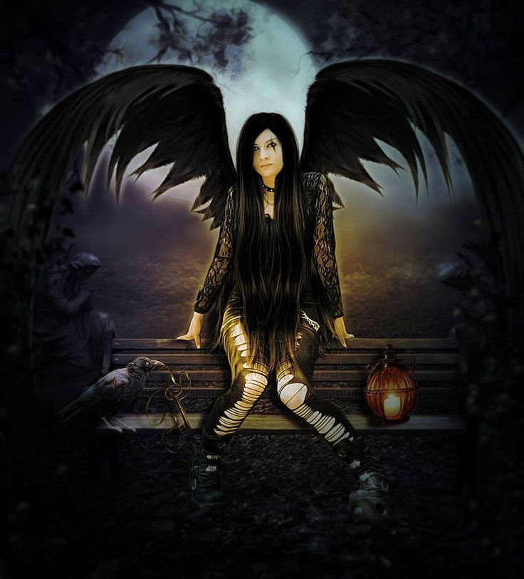 17 best fallen angel images on pinterest dark angels drawings and gothic artwork - Gothic fallen angel pictures ...