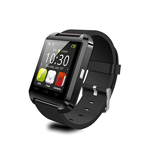 YAMAY® U8 Bluetooth 4.0 Smart Watch Fitness Smart Uhr Armband Schlaf-Monitor Ringing Erinnerung Fern Fotografieren Touch Screen hände frei für Samsung S4 / S5 / S6 Rand / Note 2/3/4, Nexus, HTC, Sony und HUAWEI Android-Smartphones