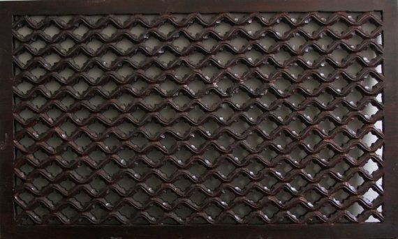 Carved decorative panel