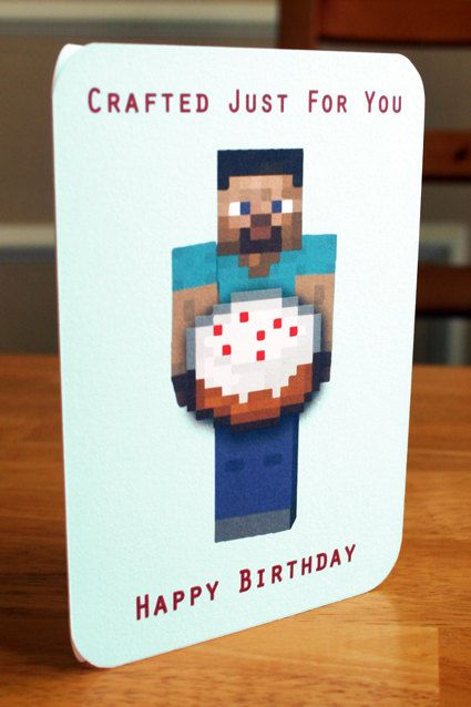 Best 25+ Minecraft birthday card ideas on Pinterest Mind craft - mine craft invitation template