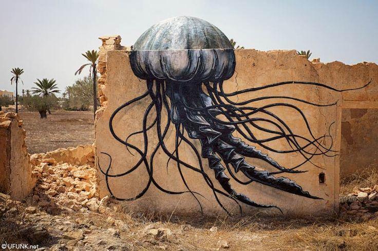 Djerbahood – Retour sur cet incroyable musée idéal du street art (image)