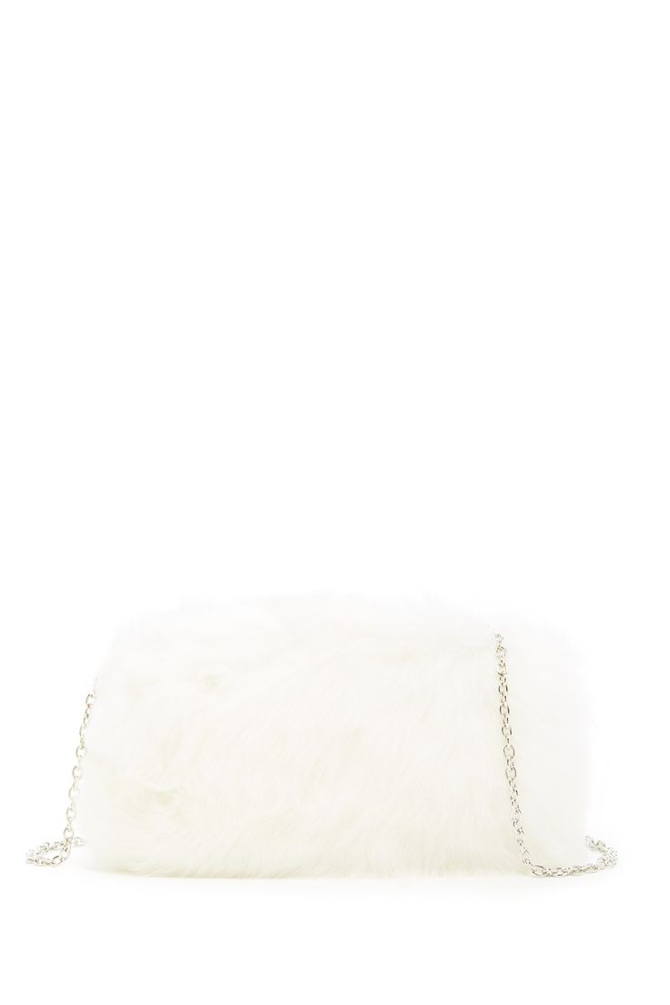 I Do! Everlasting Genuine Ovis Aries Fur Clutch