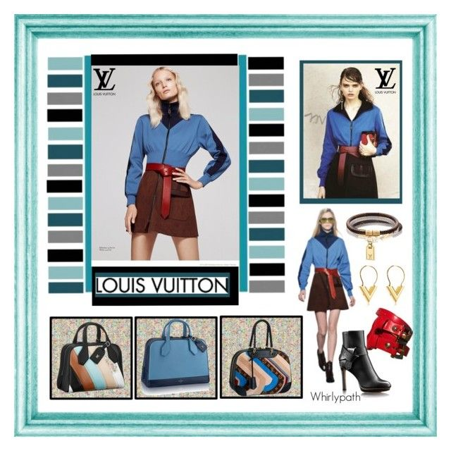 Louis Vuitton by whirlypath on Polyvore featuring Anello, Louis Vuitton and modern
