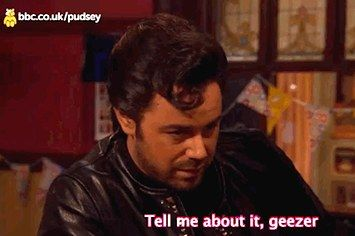 "You Have To Watch Danny Dyer Pretending To Be Danny Zuko From ""Grease"""