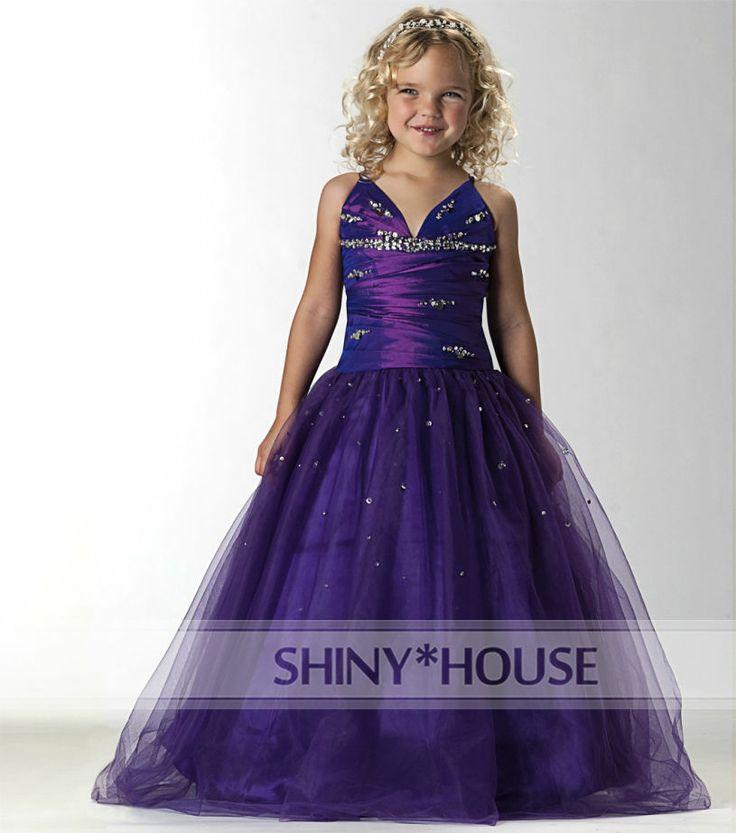 Lujoso Damas De Honor Vestidos De Color Púrpura Reino Unido Imágenes ...