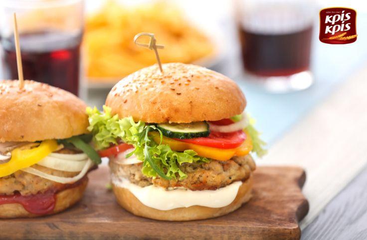 Γεμάτο γεύμα σημαίνει... Κρις Κρις burger!