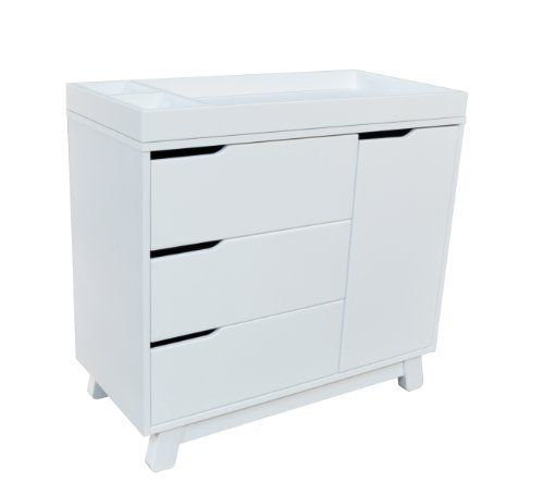 Babyletto Hudson Changing Dresser, White Get More From Your Nursery  Furniture With The Versatile Hudson Changer Dresser. Combining A Changing  Table, Three