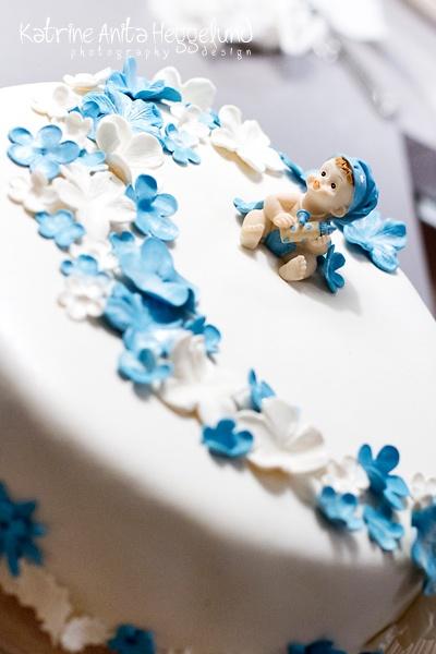 Katrine Anitas magiske verden, dåpskake, christening cake