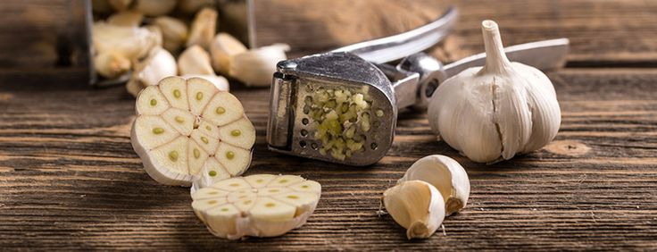 10 Natural Antibiotics - garlic antibiotic