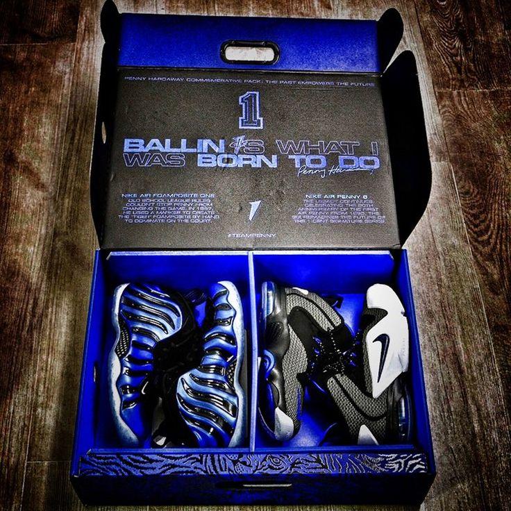 Nike Penny Foamposite Sharpie Pack