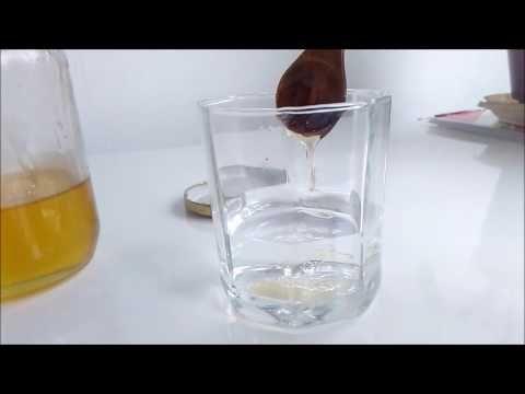 Come fare a scoprire se il miele è 100 % naturale - YouTube
