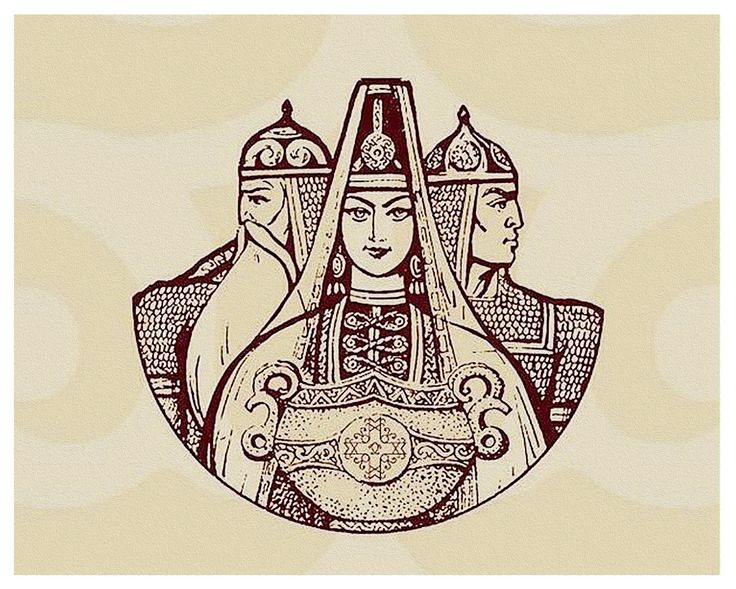 Нартский эпос в картинках шатана
