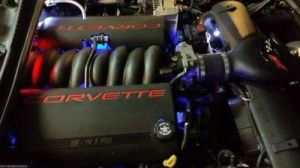 """C5 Z06 Corvette custom under hood led/strobe light Setup. Stand out from the Rest as you can see in the Video I posted. This listing is for C5 Corvette Custom under hoodLed and strobe lighting kit Supper bright LED lighting Colors can be Customized Red,Blue,White. The Layout you would Like needs to be Sent to me though E-mail toarrangeyour color scheme.. This Kit Includes (2) 12"""" Led Blue (2) 4"""" Red led and the (4) Strobe light setup with The SettingscontrollerThat has (4) Strobe…"""
