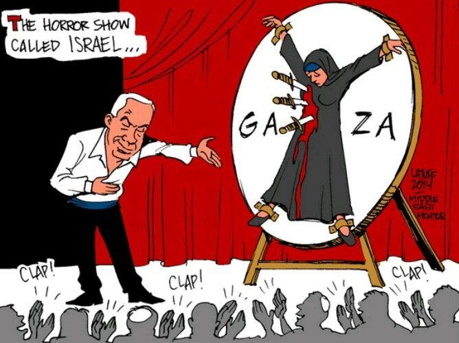 Image result for caricature gaza prison