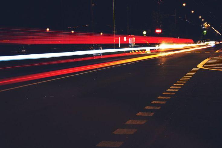 Dark road by Andy Fialova