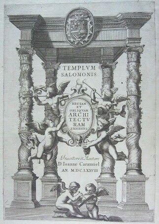"""Arquitectura recta y oblicua"" (1649) Caramuel"