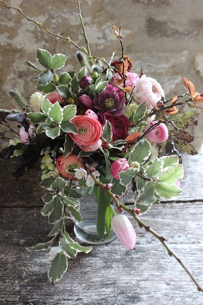 303 best seasonal spring flowers images on pinterest wedding march bride with ranunculus mightylinksfo