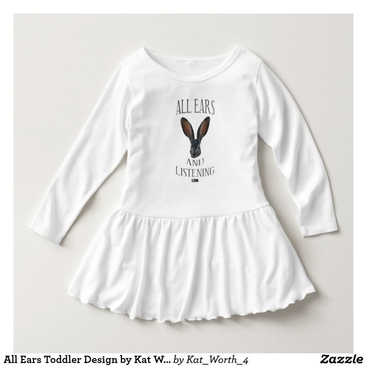 All Ears Toddler Design by Kat Worth Dress