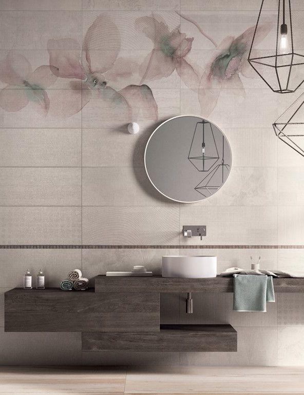 Porcelain stoneware wall/floor #tiles PAPIER by ABK Industrie Ceramiche #bathroom @ABK emozioni in superficie