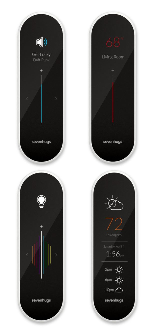 Sevenhugs' Smart Remote.