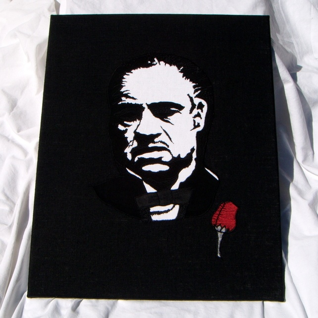 'The Godfather' - film icon canvas