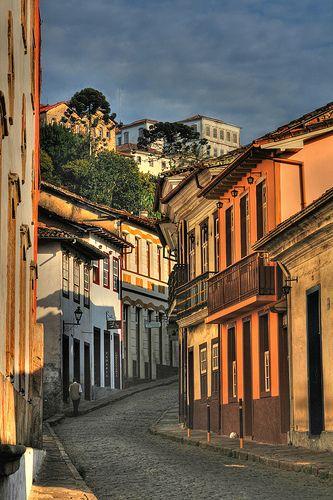 Ouro Preto - Rua (Street) São Francisco 2009, Minas Gerais, Brazil
