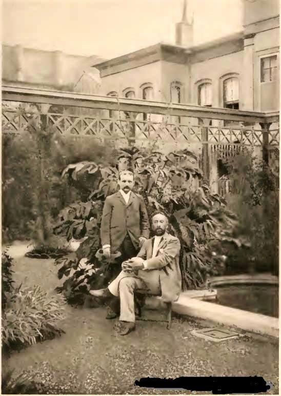 Ressam/Arkeolog Osman Hamdi Bey ve John Punnett Peters, Osman Hamdi Bey'in Boğazdaki Evi