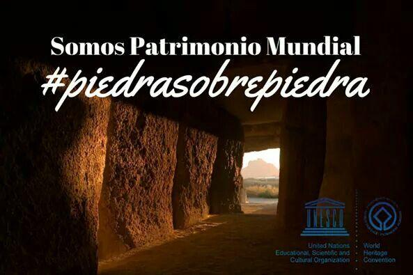 Podemos celebrarlo!! El #SitiodelosDólmenesdeAntequera es #PatrimonioMundial de la @UNESCO #SomosPatrimonioMundial