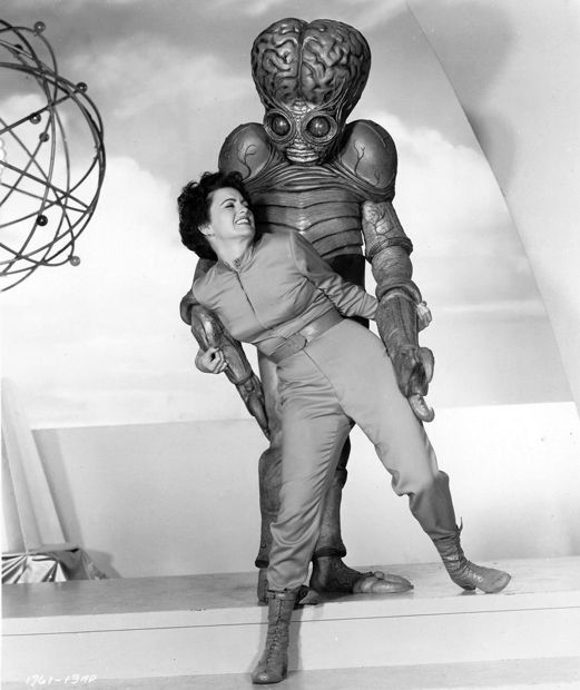 Faith Domergue - ...another talentless, ugly as shit bitch who somehow managed to convince people she was hot...