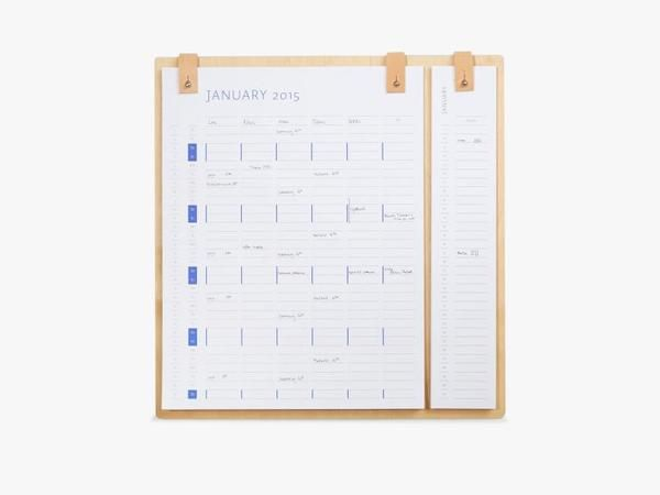 Planner board 2016/2017 fra By Wirth
