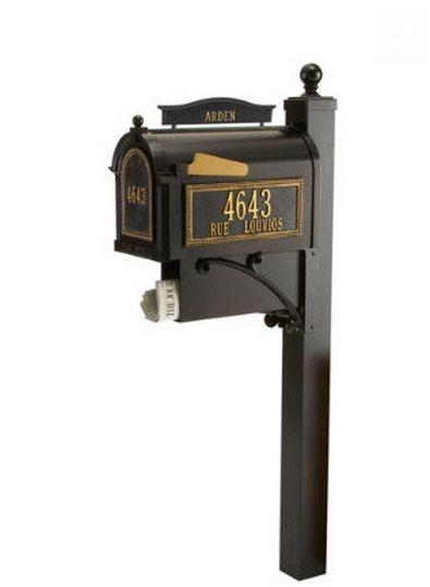 Elegante cassetta postale con spazio per i giornali #arredamento #design #accessori