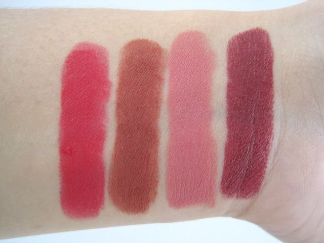Lemme Swatch It! | Purbasari Matte Lipsticks & Make Over Ultra Hi-Matte Lipsticks Swatches